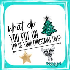 We have 4 trees and each have an angel. What is on top of your tree(S)?  www.nancypye.origamiowl.nancypye
