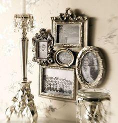 Vintage Photo Frame Grouping