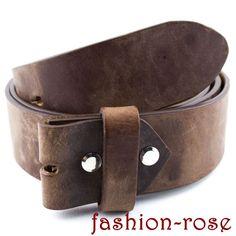 "CICO - ""lässige"" Wechselgürtel im Used Look, kürzbar Rind, Belt, Accessories, Fashion, Silver Decorations, Dark Brown, Cloakroom Basin, Armband, Belts"