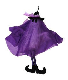 Halloween Haunt Animated Talking Ghost in Witch Hat Halloween Decoration - 3 variants