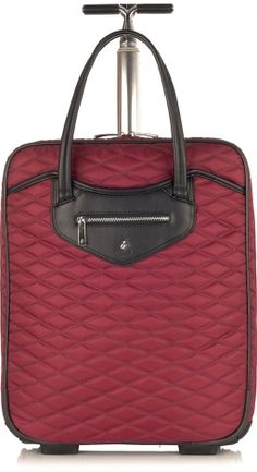 Scala North South Wheeled Trolley From Knomo Official Women S Laptop Bag