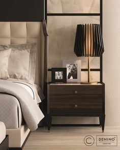 Cipriani Homood x Denino Furniture amazing luxury bedroom furniture.