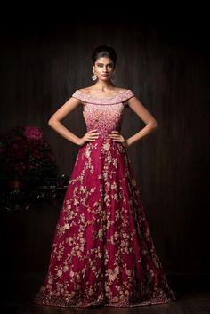 """Shaahibaug"" by Shyamal and Bhumika | Bridal/Festive Couture 2017 Models | Archana Akhil Kumar and Dayana Erappa"