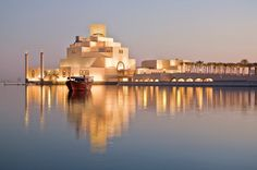 The Museum of Islamic Art, Doha, Qatar designed by IM Pei | Image Credit: Flickr User hulivili |