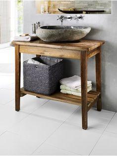 bad waschtisch holz jid bad pinterest. Black Bedroom Furniture Sets. Home Design Ideas