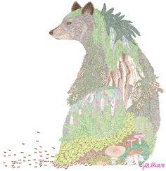 anima-bear by Jill Bliss