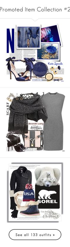 """""""Promoted Item Collection #2"""" by kateo ❤ liked on Polyvore featuring Kate Spade, Issey Miyake, katespade, 6310, Alexander Wang, scarf, 6247, SOREL, Steve Madden and sorelstyle"""