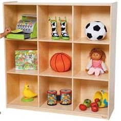 Wood Designs™ Deep Storage Cubbies