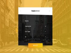 Day 069 - Taxi Driver Account Creation x3 by Ayoub kada