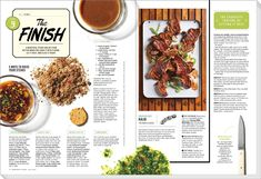 Lily Chow - Design - Art Direction-The Great American Steak Out (Bon Appetit…