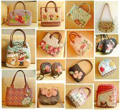淡水鱼-沈阳_新浪博客 Japanese Patchwork, Japanese Quilts, Patchwork Bags, Quilted Bag, Fabric Bowls, Mk Handbags, Cotton Bag, Handmade Bags, Straw Bag