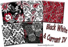 New! Black White and Currant IV!