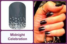 MIDNIGHT CELEBRATION Jamberry Nail Wrap #midnightcelebrationjn