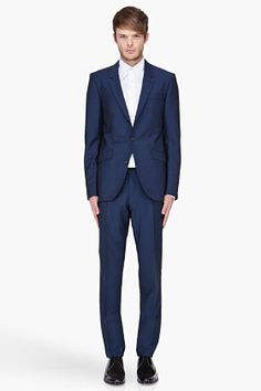 Tiger Of Sweden Navy Nedvin 3 Suit