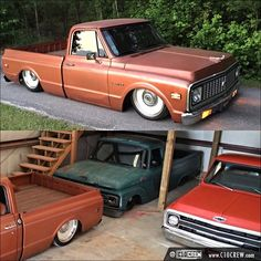 80s Chevy Truck, Chevy Pickup Trucks, Chevy C10, Chevy Pickups, Chevrolet Trucks, Lowered Trucks, C10 Trucks, Big Monster Trucks, Garage Construction