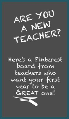 A collaborative Pinterest board of ideas, resources, and suggestions from veteran teachers to help new teachers start strong.