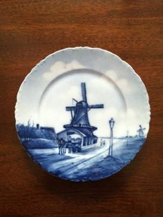 Rosenthal Delft Versailles 7 Plate by FrannieBee on Etsy, $20.00