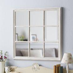 large window mirror by live laugh love   notonthehighstreet.com