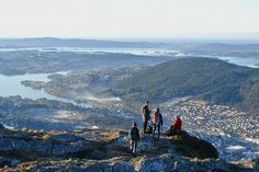 Morning hike -  Norway by Christian Kluge, via Flickr