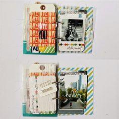 Random Ramblings...: NYC Mini Album / PL cards - Mel Blackburn