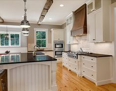 Kitchen Countertop Ideas. Like cabinets and countertops...floor needs to be different color!