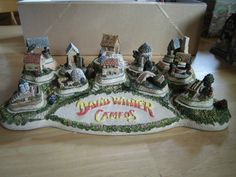 David Winter Diorama with Cottages | eBay