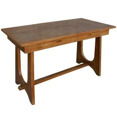 MASTER: Desk option (other one back-ordered) Italian Trestle Console, 1st Dibs, $2,800