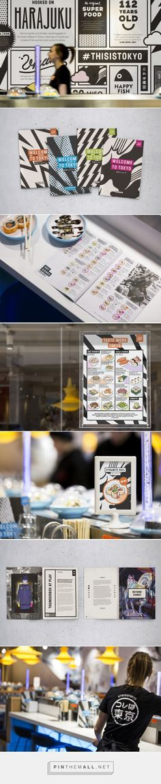 A taste of Tokyo: &Smith's brand refresh for Yo! Sushi – Creative Review - created via https://pinthemall.net
