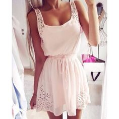 Stylish Square Neck Spliced Lace-Up Sleeveless Women's Dress http://www.twinkledeals.com/casual-dresses/stylish-square-neck-spliced-lace-up/p_104695.html?lkid=2811