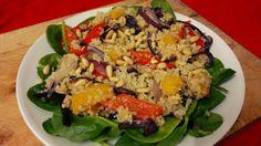 Warm Quinoa Salad with Roasted Veg