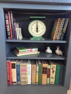 Vintage cookbook collection.