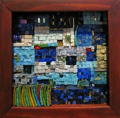 Impromptu by Marian Shapiro  ~ Maplestone Gallery  ~  Contemporary Mosaic Art