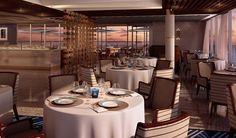 Seven Seas Explorer's La Veranda - one of three specialty restaurants
