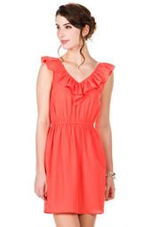 Gearhart Ruffle Dress-Francescas