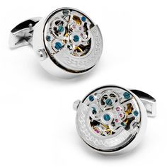 Kinetic Watch Movement Cuff Links - Cufflinks $250