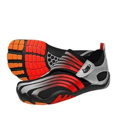 Take a look at this Licorice Terraraz Minimalist Running Shoe - Kids by ZEMgear on #zulily today!