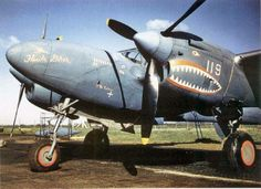 P-38 Lightning (SMILING SHARK)