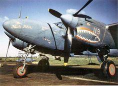 P-38 Lightning (SMILING SHARK)