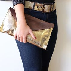 Handbags and Belts in gold!