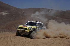 Nani Roma winner Dakar Car Class 2014