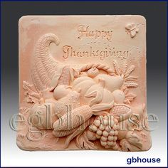 2D Silicone Soap Mold-Thanksgiving - Free Shipping by egbhouse on Etsy https://www.etsy.com/listing/161164297/2d-silicone-soap-mold-thanksgiving-free