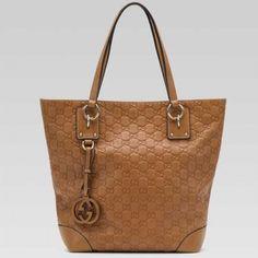 6f257c02cc3 Gucci Charm Medium Tote Light Camel 247237 ST Gucci Tote Bag