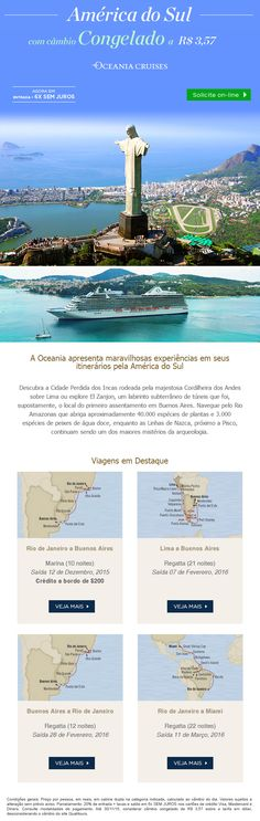 Oceania Cruises - América do Sul