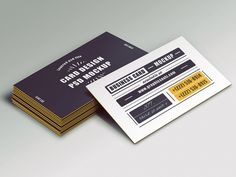 Business Card Mockup by Graphicsoulz