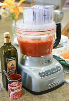 Fresh-Roasted Summer Garden Pasta Sauce 5