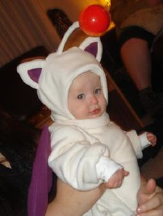 For all my fellow Final Fantasy fans out there... tell me this isn't the cutest costume ever!!!