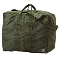 PORTER FLEX/2WAY DUFFLE BAG(S) YOSHIDA http://www.yoshidakaban.com/