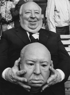 Alfred Hitchcock.....the Grand Master of creepy ;)