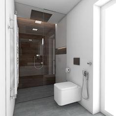 Moderná kúpeľňa FLIP - Pohľad od vstupu