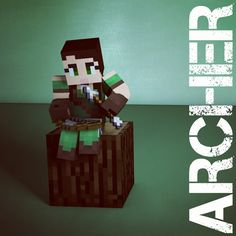 Archer class from our new faction server! #minecraft #faction #minecraftonly #minecraftpc #minecraft server Server: faction.adroition.com